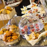 Frühstück Frühstücksbuffet Stadt Café Wanders Kleve große Auswahl