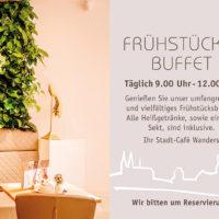 Frühstück Frühstücksbuffet Stadt Café Wanders Kleve Täglich