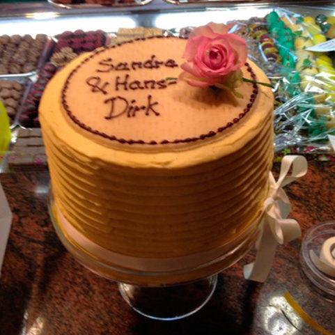 Hochzeitstorten individuelle Torten Kuchen Stadt Café Wanders Kleve